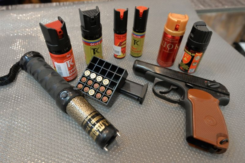 Виды оружия самообороны