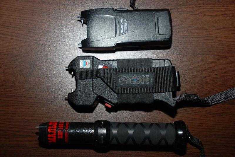 Электрошоковые устройства самообороны